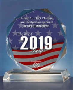 United Air Duct Cleaning And Restoration Services - Best of Katy Awards